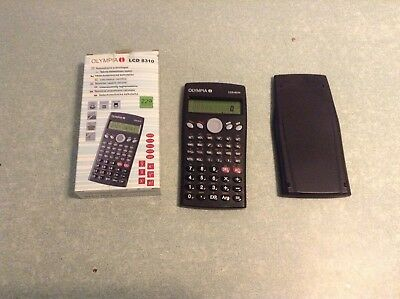 OLYMPIA 8310 SCIENTIFIC CALCULATOR 229 Fonctions