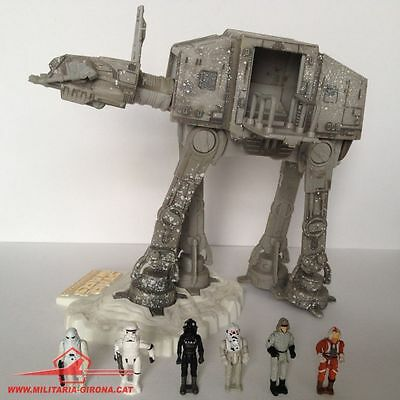 Star Wars Action Fleet Imperial At-At Special Edition 2002 Lgti Set Of 6 Figures
