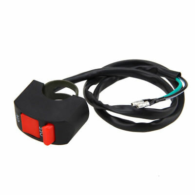 7/8''Motorcycle Handlebar Scooter ATV Dirt Bike Kill Stop ON-OFF Button Switch J