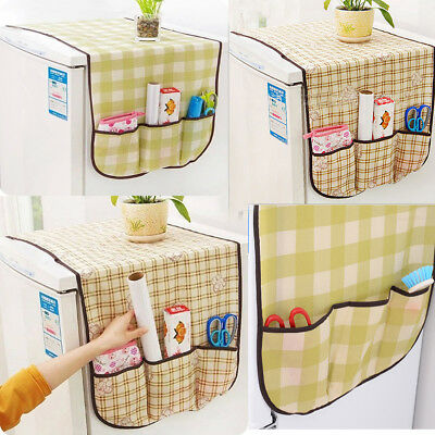 Multi-functional Refrigerator Dust Cover Organizer Bag Household Storage Bag New