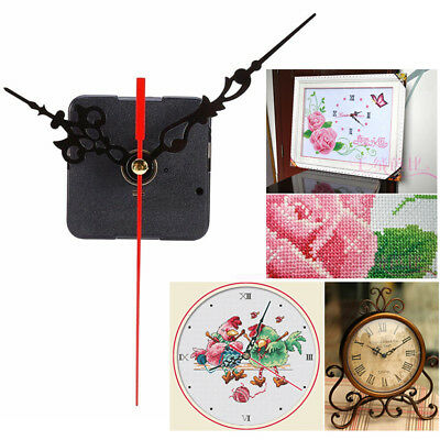 Quartz Wall Clock Movement Hands Mechanism Replacement Parts Kit Set DIY Crafts