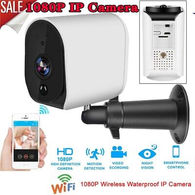 WIRELESS SECURITY CAMERA Baby Monitor WiFi 1080P Pan/Tilt IP