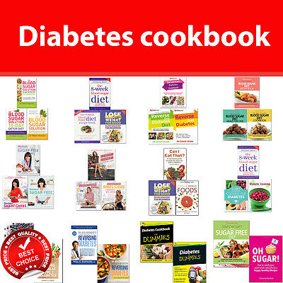 Diabetes Cookbook books set I quit, Essential Blood Sugar Diet Recipe, Reverse