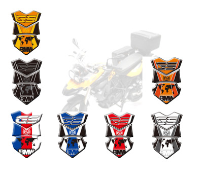 3D Gel Gas Fuel Protector Tank Traction Pads Sticker For BMW F800 GS 2008-2012