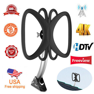 1byone New 180 Mile Antenna TV Digital HD Skywire Antena Digital HDTV 1080P