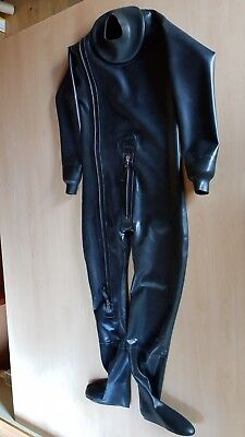 "MD-LATEX - Latexanzug ""DIVE"" 0,9mm Latexoverall Overall Ganzanzug Latex Rubber"