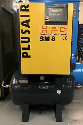 HPC / Kaeser SM8 Receiver Mounted Rotary Screw Compressor! 5.5Kw, Immacuate!