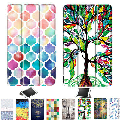 Leather Folio Case Cover for Huawei Tablet Series MediaPad T3 8.0/ 10 M3 Lite 10