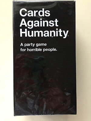 Cards Against Humanity, 550 Cards Full Base Set Pack Party Game!!  Xmas Gift US