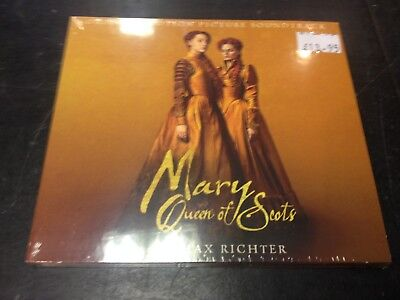 Max Richter - Mary Queen Of Scots Original Soundtrack Cd New Mint Sealed 2018