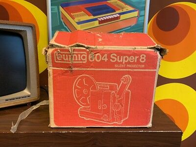 Eumig 604 Super 8 Silent Projector (BOXED)