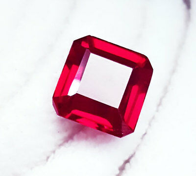 13.87 Ct Natural Ruby Loose Gemstone Certified OctagonShape