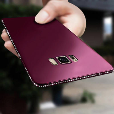 Bling Diamond Crystal Soft Case Cover For Samsung Galaxy S9/S8 Note 9 A7 A8 A5J3