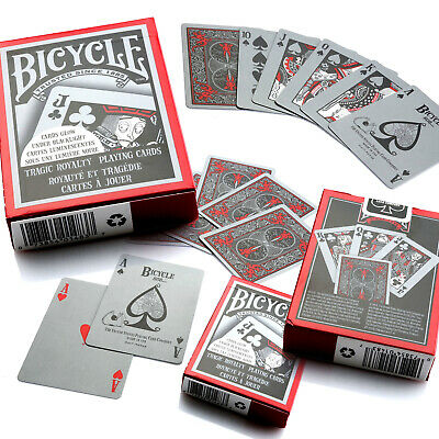 Bicycle Tragic Royalty Playing Cards Single Deck Stunning Design Poker NEW
