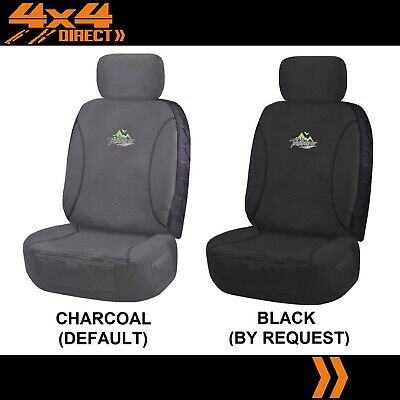 Single 18Oz Waterproof Canvas Car Seat Cover For Holden Colorado Sportscat