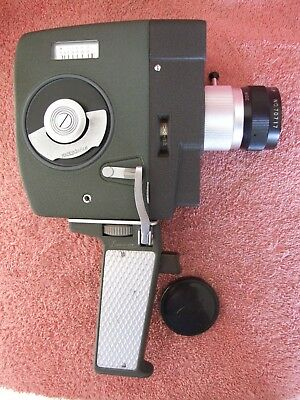 LUMICON ZOOM 8MM  MOVIE CAMERA good working condition, with pistol grip