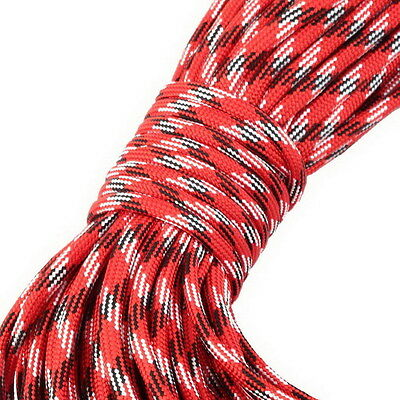 550 Paracord Parachute Cord Lanyard Mil Spec Type III 7 Strand Core100FT AC