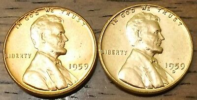 1959 1959d LINCOLN MEMORIAL CENT PENNY AU Very Nice Higher Grade
