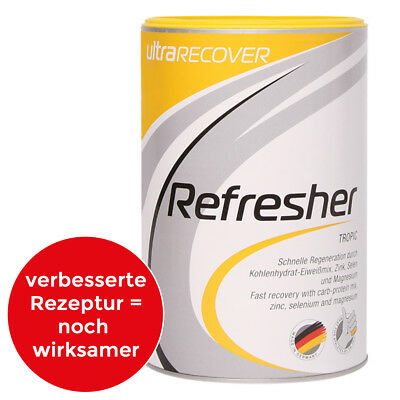 (45,00€/1kg) UltraSPORTS ultraRECOVER Refresher Dose mit 500g | Sportgetränk