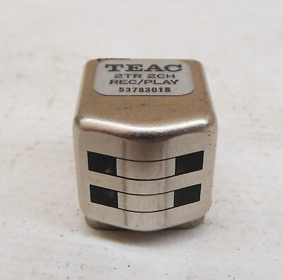 Tape Head For Tascam 32 33-2 Br-20N Nab Record Rec Play Pb Repro 53783018-00