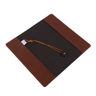 PU Faux Leather Cover Traveller's Handbook Diary Travel Journal Notebook N7
