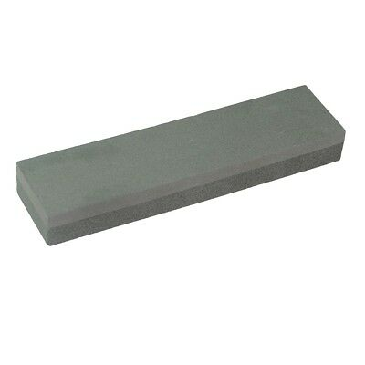 Sharpening Oil Stone 2 Sided Whetstone 200Mm Silicon Carbide Silverline 261028