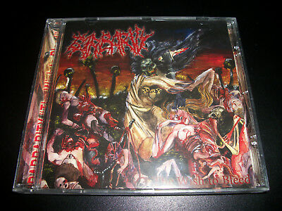 Barbarity - The Wish to Bleed - CD - More Hate Productions