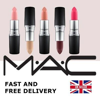 💄MAC LIPSTICK💄 STUDDED KISS, LADY DANGER, MORANGE, RUSSIAN RED new in box UK