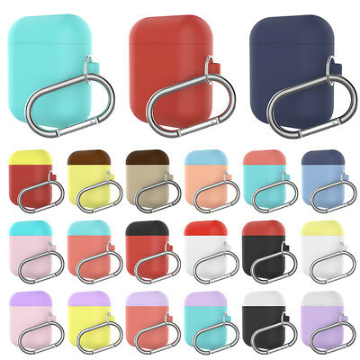 Candy Color For Apple AirPods Protect Silicone Cover Skin AirPod Earphone Cases