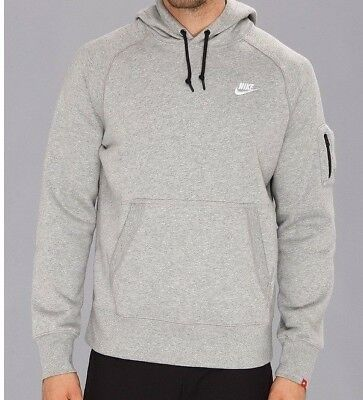 the best best cheap official images NIKE AW77 W/ Zip Arm Pocket Pullover/Hoodie - Grey BRAND NEW ...