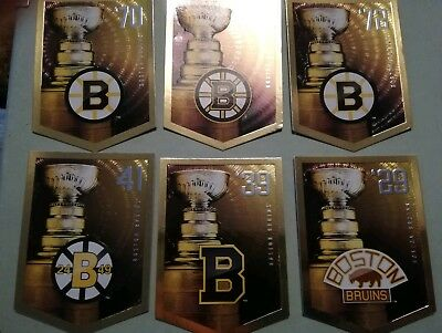 Panini 2012 NHL Stanley Cup Collection Boston Bruins