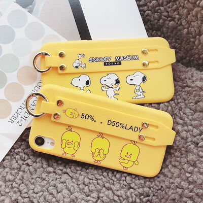 Cute Snoopy Cartoon Phone Case Cover For iPhone X XS Max XR 6 7 8 Plus New