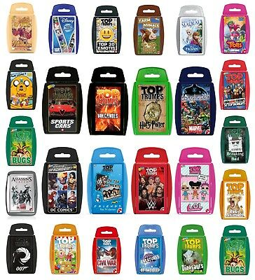 Top Trumps Card Games - LOL Surprise Friends Disney Marvel Potter Minecraft