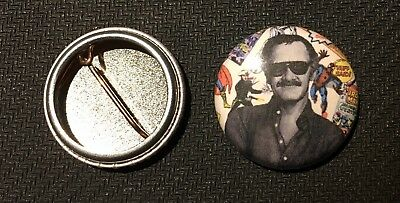 """Stan Lee - Marvel Age 41 Cover - 1"""" Pinback Button Pin - Buy 2 Get 1 Free"""