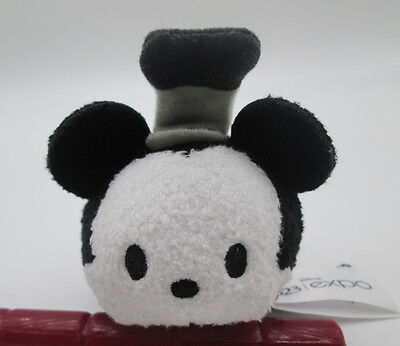 2015 D23 Expo Disney Tsum Tsum Steamboat Willie Mini Mickey Mouse Plush TOY