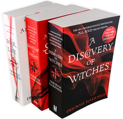 Deborah Harkness All Souls Trilogy Collection 3 Book Set A Discovery of Witches