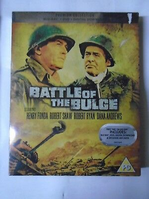 Battle Of The Bulge [Blu-ray + DVD + Digital Download], New & Sealed D5