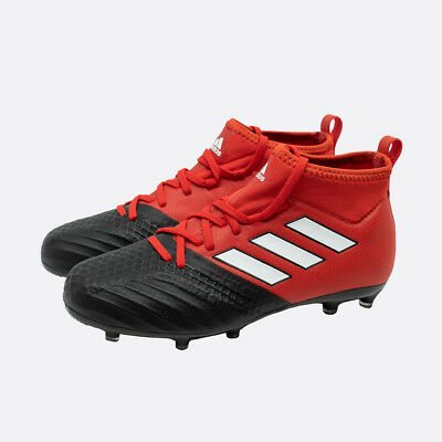 ba6d0aafd Adidas ACE 17.1 FG J Soccer-Shoes Children Boys Football Boots Red White  Black
