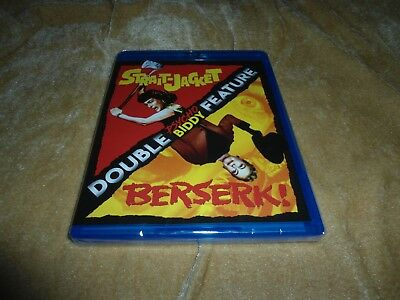 Strait-Jacket and Berserk Double Psycho Biddy Feature [1 Disc Blu-ray]