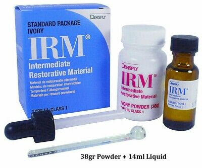 IRM POWDER & LIQUID Kit BY DENTSPLY CLEARANCE !!!