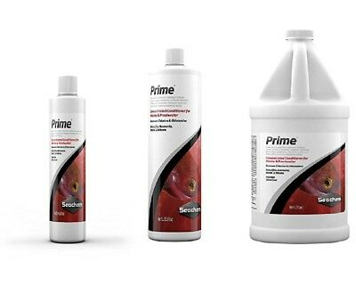 Seachem Prime Concentrated Conditioner, 500 Ml 4liter 1000ml All Sizes Available