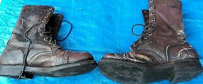 Springer Stiefel, Para Boots, US Army, orig. Corcorans, WK2,WW2, Gr. ca 43/44