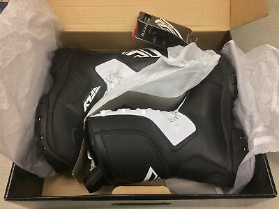 Mens FLY Racing Marker BLACK/White Snowmobile Winter Snow Boots SIZE 11