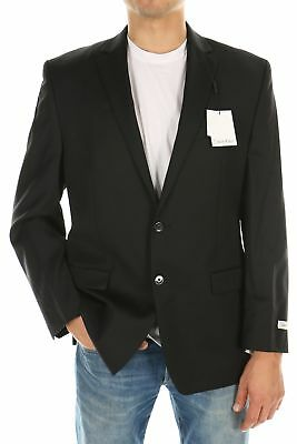 Calvin Klein Black Men's 191885 Suit Blazer Jacket 42R $394