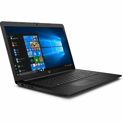 HP Notebook 17 Zoll HD+ Quad Core 4x 2,7GHz 4GB 1TB Win10 / Office 2018 DVD RW