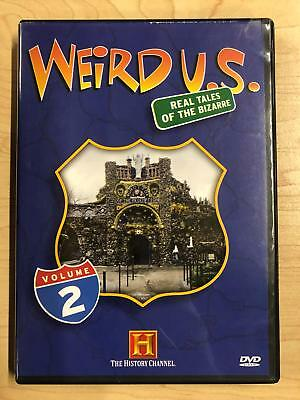 Weird U.S. Real Tales of the Bizarre Vol. 2 (DVD, 2005, History Channel) - E1125