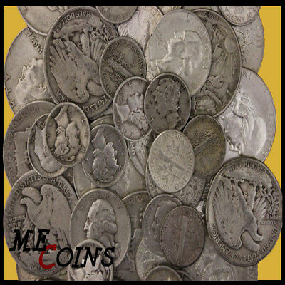 1 Standard Ounce 90% Silver Old US Coins Bullion Lot PLUS BONUS ITEMS!