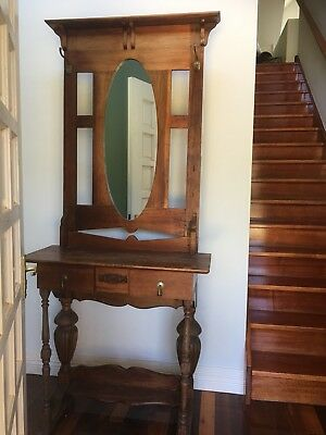 Hall stand with mirror - Melb Pick Up Only