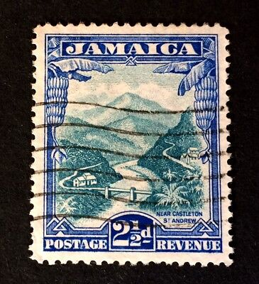 Jamaica 1932 - old used stamp 2 1/2 Pence - Michel No.109