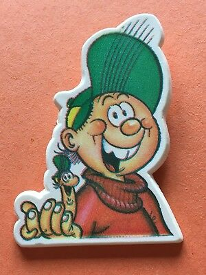 Buster Comic Character Plastic Pin Badge (see pics) Fleetway